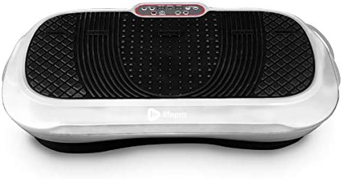 LifePro Waver Vibration Plate Exercise Machine - Whole Body Workout Vibration Fitness Platform w/Loop Bands - Home Training Equipment for Weight Loss & Toning 3