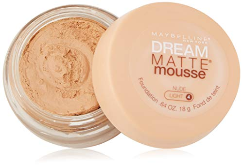 Maybelline Dream Matte Mousse Foundation, Classic Ivory, 0.64 Ounce