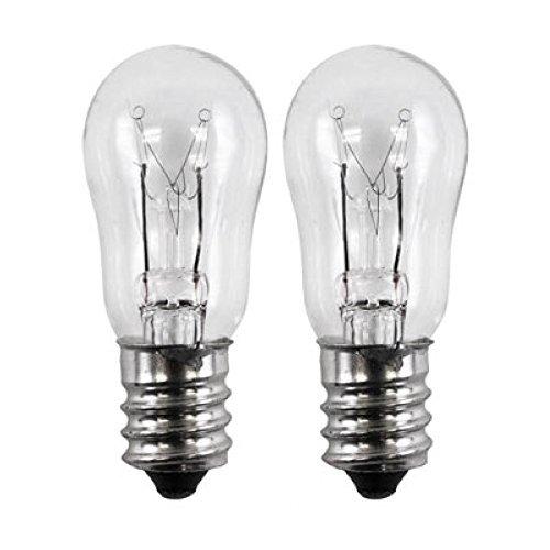 OCSParts ELE208 x 2 WE4M305 General Electric Dryer Light Bulb, 120V, 10W (Pack of 2)