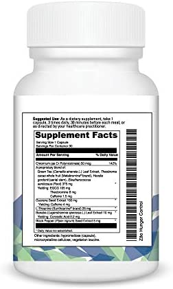 Zāo® Hunger Control, Appetite Control & Healthy Cortisol Function 90 Capsules 2