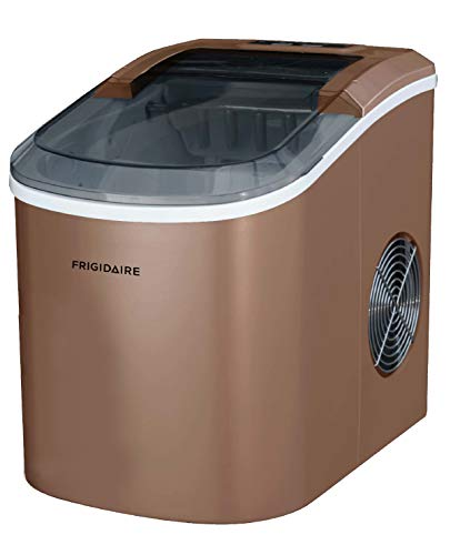 Frigidaire EFIC101-BLACK Portable Compact Maker, 26 lb per Day, Ice Making Machine