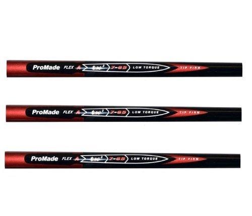 Pro Taylor Fit Nano Made PGA Tour 65 Gram Graphite Golf Iron Shafts - A, R or S Flex (Regular)