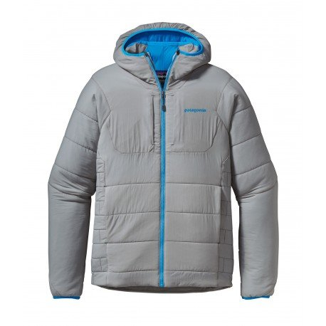 Patagonia Nano-Air Insulated Hooded Jacket - Men's Drifter Grey, M