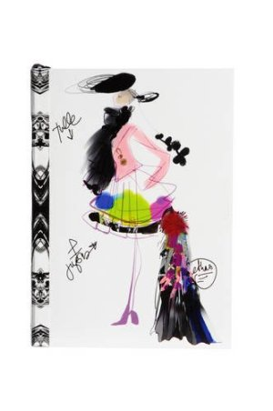 Christian Lacroix Croquis Fashion Sketch A6 6″ X 4.25″ Softcover Notebook