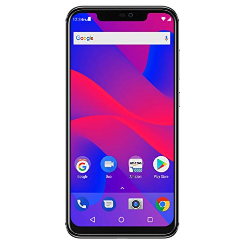 "BLU VIVO XI+ - 6.2"" Full HD+ Display Smartphone, 128GB+6GB RAM, AI Dual Cameras -Black"
