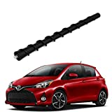 ZHParty 7' Whip Rod Antenna Mast Perfect Replacement for 06-18 Toyota Yaris, 10-17 Toyota Prius - Replaces OEM # 86309-47020,86309-0D110