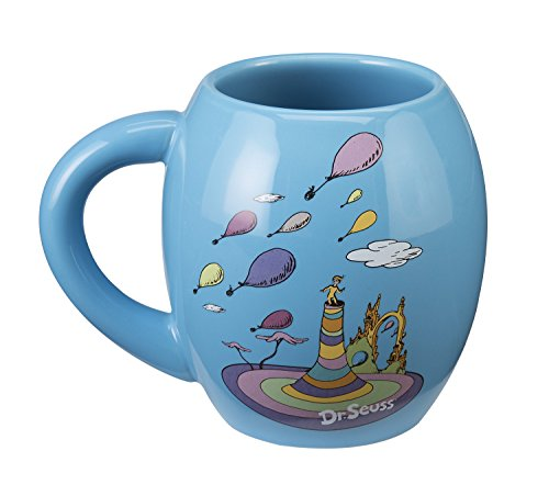 Dr. Seuss Oh the Places 18 Oz. Oval Ceramic Mug