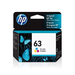 HP 63 | Ink Cartridge | Works with HP Deskjet 1112, 2100 Series, 3600 Series, HP ENVY 4500 Series, HP OfficeJet 3800…