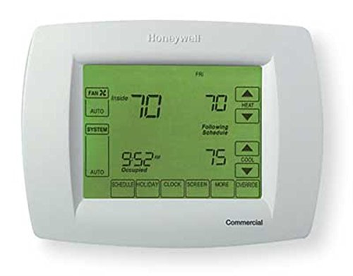 HONEYWELL TH114-AF-GA Line volt non-programmable electronic thermostat for electric floor heating applications with 5 mA built-in GFCI and floor sensor