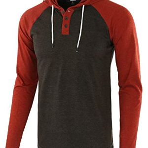 Estepoba Sports Athletic Fit Mens Casual Lightweight Active Jersey Shirt Hoodie 8