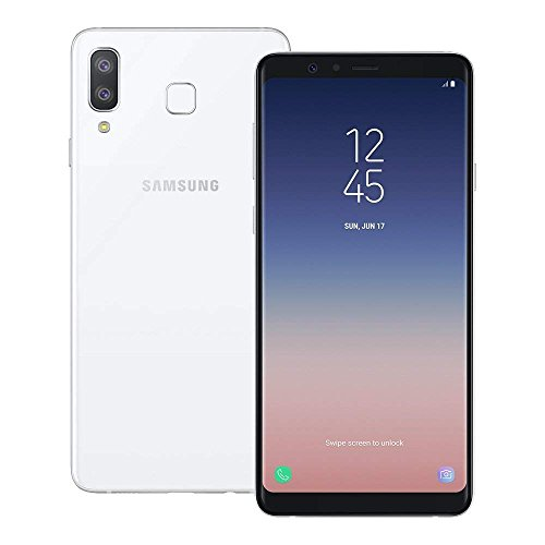 Samsung Galaxy A8 Star SM-G885F/DS 64GB/4GB Factory Unlocked GSM Only, No CDMA - International Version (No warranty in the USA) (White)