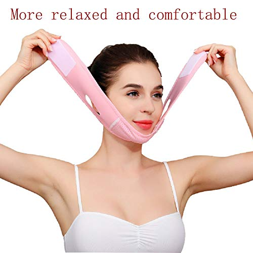 V Line Face Lift for Women Eliminates Sagging Skin Lifting Firming Anti Aging, Facial Slimming Strap, Pain Free Face Lifting Belt, Double Chin Reducer 7