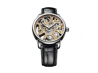 Maurice Lacroix Masterpiece Skeleton Watch, ML134, Crocodile, MP7228-SS001-001-1