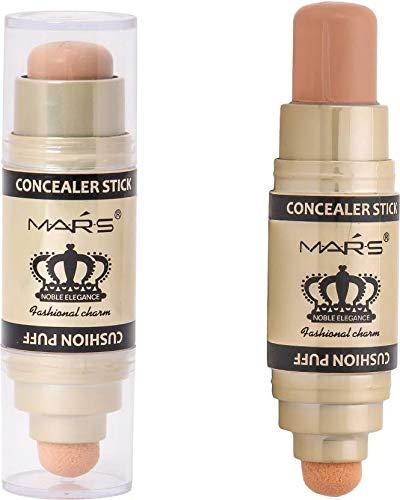 Mars HIGH COVERAGE CREAMY WITH SMUDGER Concealer WITH UNDER EYE CREAM(beige, 8 g)