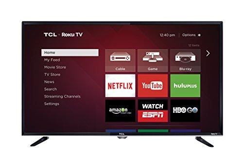 TCL 40FS3800 40 Inch 1080p Roku Smart LED TV (2015 Model)  Image of 41xudtkuE6L