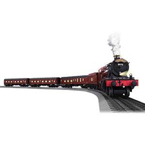 Lionel Hogwarts Express Electric O Gauge Model Train Set w/ Remote and Bluetooth Capability 41xzG56tlmL