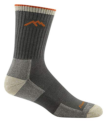 Darn Tough Coolmax Micro Crew Cushion Socks - Men's Olive Large