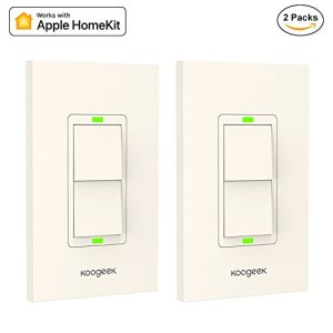 Koogeek Smart 2-Gang WiFi Light Switch