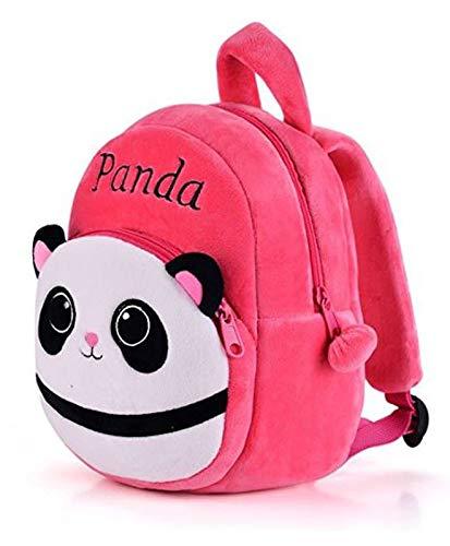 41y9tb1b3wL - Black Hill Cute Kids Backpack Toddler Bag Plush Animal Cartoon Mini Travel Bag for Baby Girl Boy 1-6 Years (Pink-Panda)