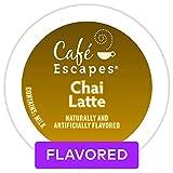 Café Escapes Chai Latte, Single Serve Coffee K-Cup Pod, Flavored Coffee, 72