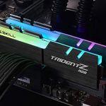 G.SKILL TridentZ RGB Series 32GB (2 x 16GB) 288-Pin DDR4 SDRAM DDR4 3200 (PC4 25600) Desktop Memory Model F4-3200C14D…