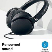Sennheiser HD 400S Kafa Üstü Siyah Kulaklık 14