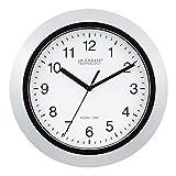 La Crosse Technology Atomic Analog Wall Clock, 10', Silver