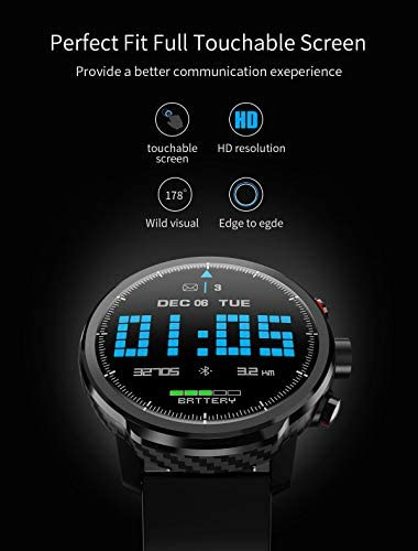 Fitness Tracker Activity Tracker Heart Rate Monitor Pedometer IP68 Sports Smart Watch Multifunction 4