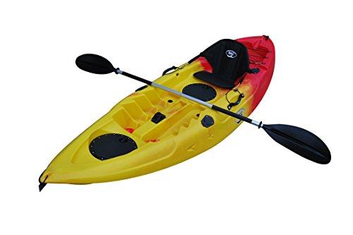 BKC Sit on Top Single Fishing Kayak