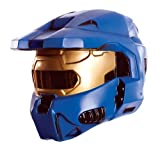 Halo Universe Spartan 2-Piece Mask, Blue, One Size