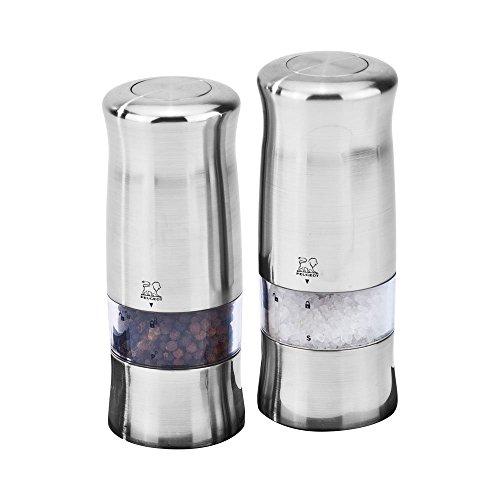 Peugeot Zeli Electric Salt & Pepper Mill Set