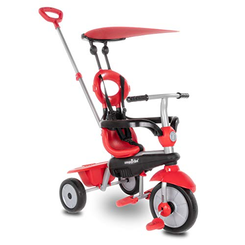 smarTrike Zoom 4 in 1 baby Tricycle, Red