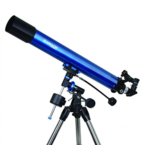 Meade Instruments Polaris 80mm Refractor Azul - Telescopio