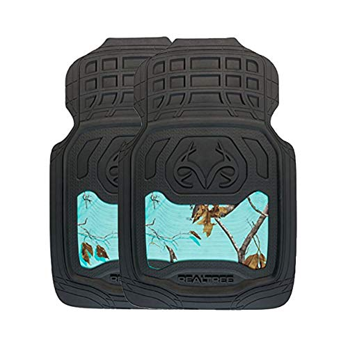Realtree Camo Front Floor Mats | AP Cool Mint | 2 Pack