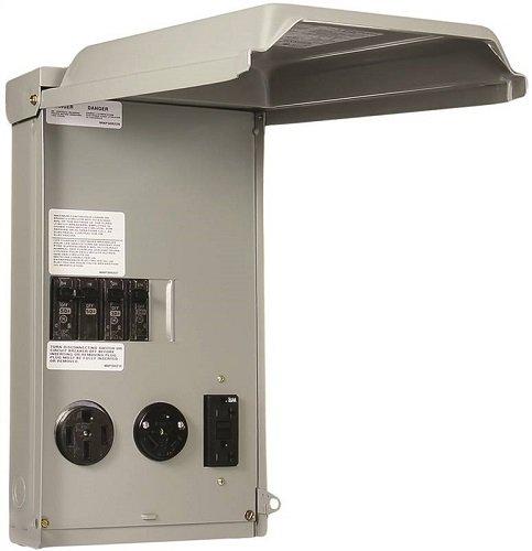 Power Panel Rv 100a 50/30/20a
