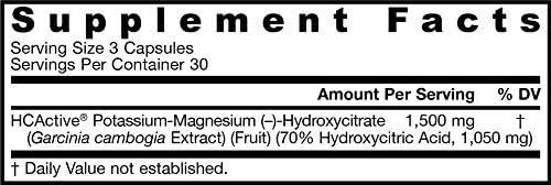 Jarrow Formulas HCActive Garcinia Cambogia, Supports Appetite Control and Weight Management, 90 Veggie Caps 2
