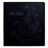Beautyus Photo Album Book, Family Album, Leather Cover, Holds 3x5, 4x6, 5x7, 6x8, 8x10 Photos (Black)