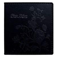 Beautyus Photo Album Book, Family Album, Leather Cover, Holds 3x5, 4x6, 5x7, 6x8, 8x10 Photos (Black)