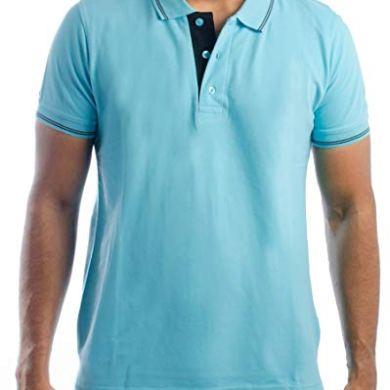Ruffty Mens Cotton Polo,Collar Half Sleeve Tshirt 17