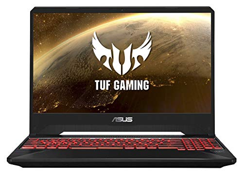 "ASUS TUF Gaming FX505GD 15.6"" FHD Laptop GTX 1050 4GB Graphics (Core i5-8300H/8GB RAM/1TB HDD/Windows 10/Black Plastic/2.20 Kg), FX505GD-BQ136T 13"
