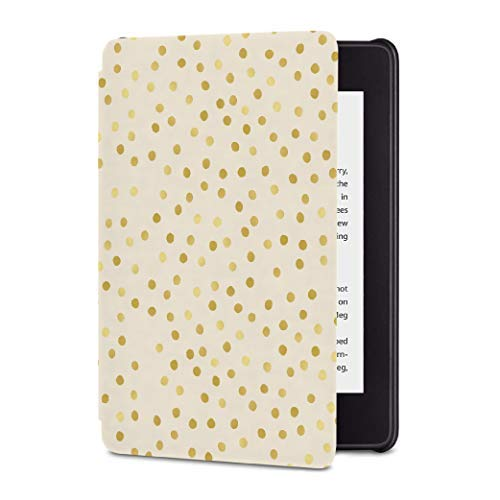 All-New Kindle Paperwhite Waterproof Leather Cover, Slim Fit Smart Case with Auto Sleep/Wake (10th Generation-2018) - New Kindle Cover - Covers