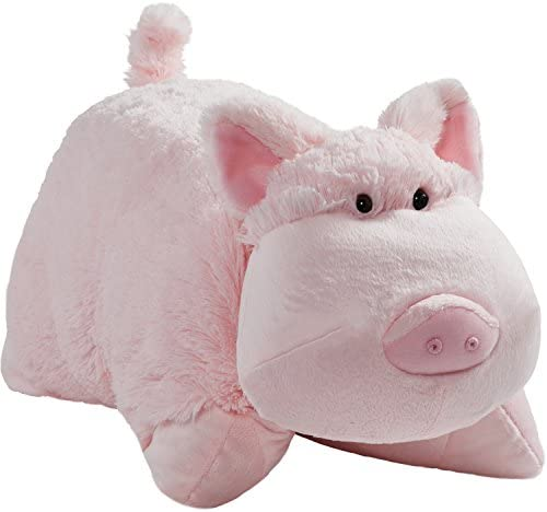Pillow Pets Originals, Wiggly Pig, 18″ Stuffed Animal Plush Toy