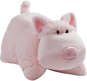 Pillow Pets Originals, Wiggly Pig, 18″ Stuffed Animal Plush Toy