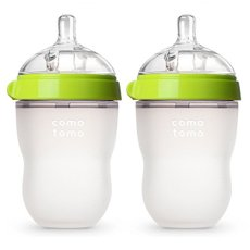 Comotomo Natural Feel Baby Bottle Single Pack