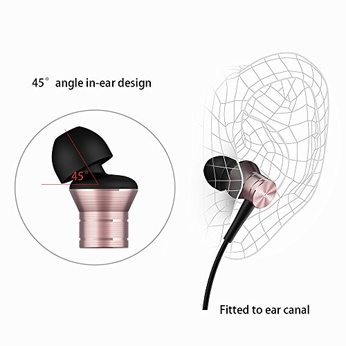 1MORE Piston Fit in-Ear Headphones (Earphones/Earbuds) with Apple iOS and Android Compatible Microphone and Remote (Silver) 4