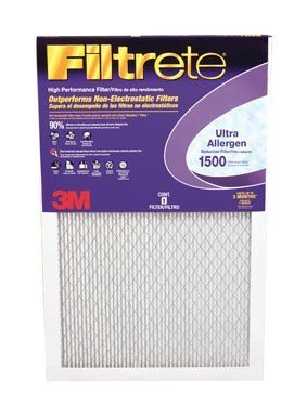 16x30x1, Filtrete Allergen Reduction Air Filter, MERV 11, by 3m