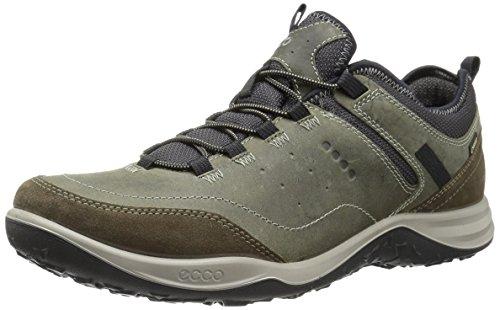 ECCO Men's Esphino GORE-TEX waterproof Hiking shoe, Tarmac/Tarmac, 44 EU / 10-10.5 US