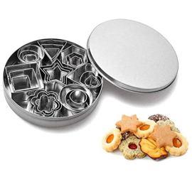 Set di Formine per Biscotti 24 pezzi