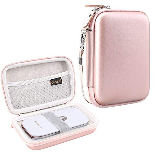 Canboc Shockproof Carrying Case Storage Travel Bag for HP Sprocket Plus Instant Photo Printer, Portable Mobile Printer Camera Protective Pouch Box