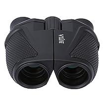 G4Free 12x25 Waterproof Binoculars BAK4 Green Lens